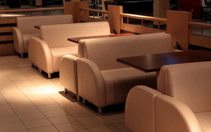 Критерии выбора диванов для кафе и ресторанов