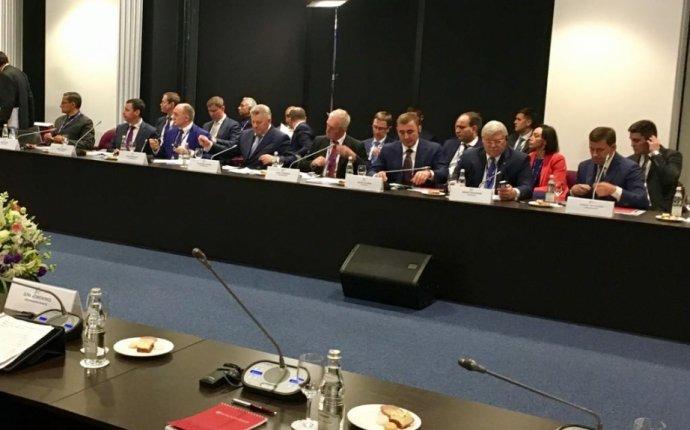 Вячеслав Шпорт принял участие во встрече с Премьер-министром Индии